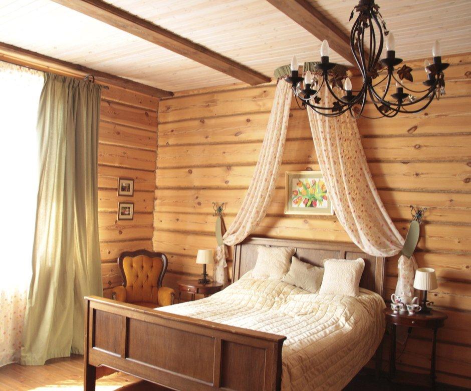 Фотография: Спальня в стиле Эклектика, Дом, Дома и квартиры, Дача – фото на INMYROOM