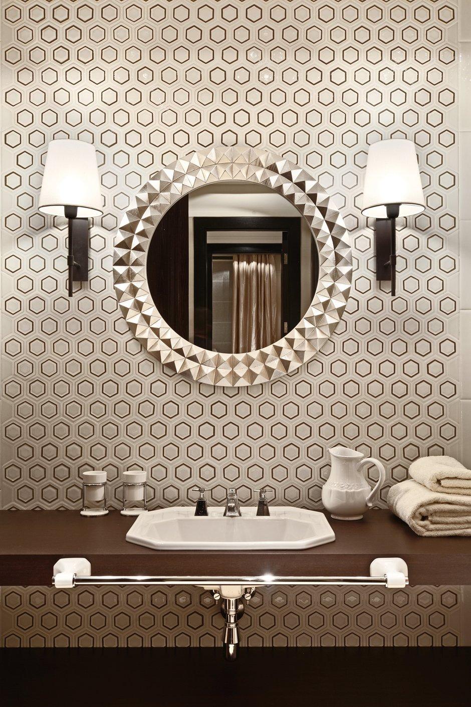 Фотография: Ванная в стиле Эклектика, Дом, Дома и квартиры – фото на INMYROOM
