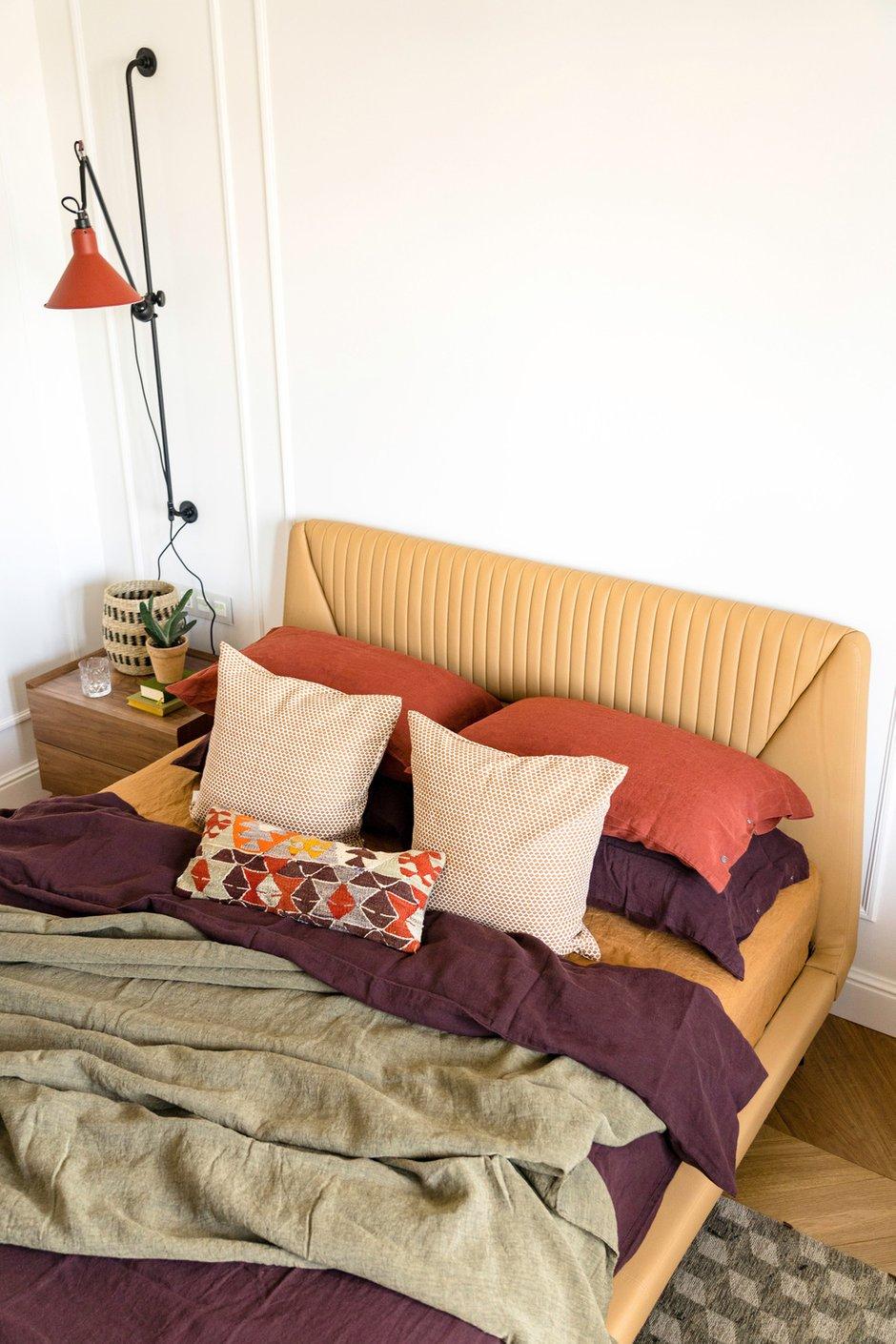 Фотография: Спальня в стиле Современный, Эклектика, Квартира, Проект недели, Москва, Светлана Гаврилова, Монолитный дом, 3 комнаты, 60-90 метров – фото на INMYROOM
