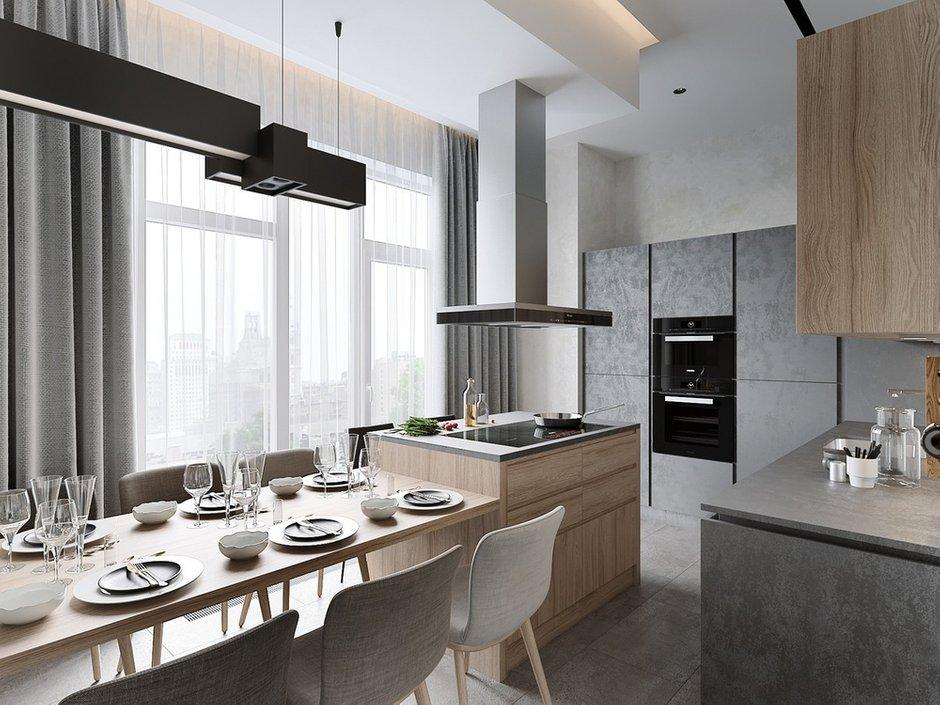 Фотография: Кухня и столовая в стиле Современный, Miele, Проект недели, 2 комнаты – фото на INMYROOM