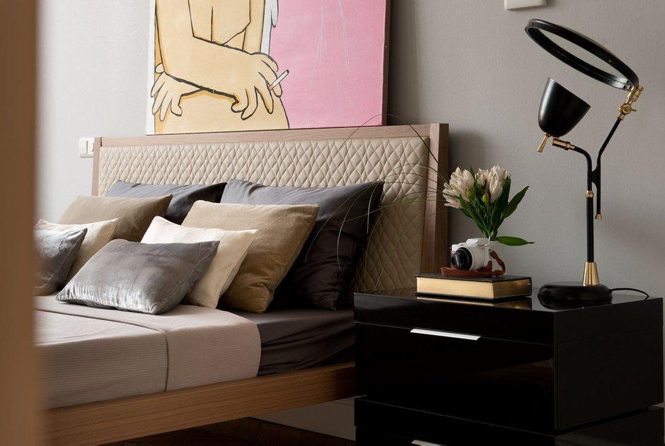 Фотография: Спальня в стиле Современный, Квартира, Декор, Проект недели – фото на INMYROOM