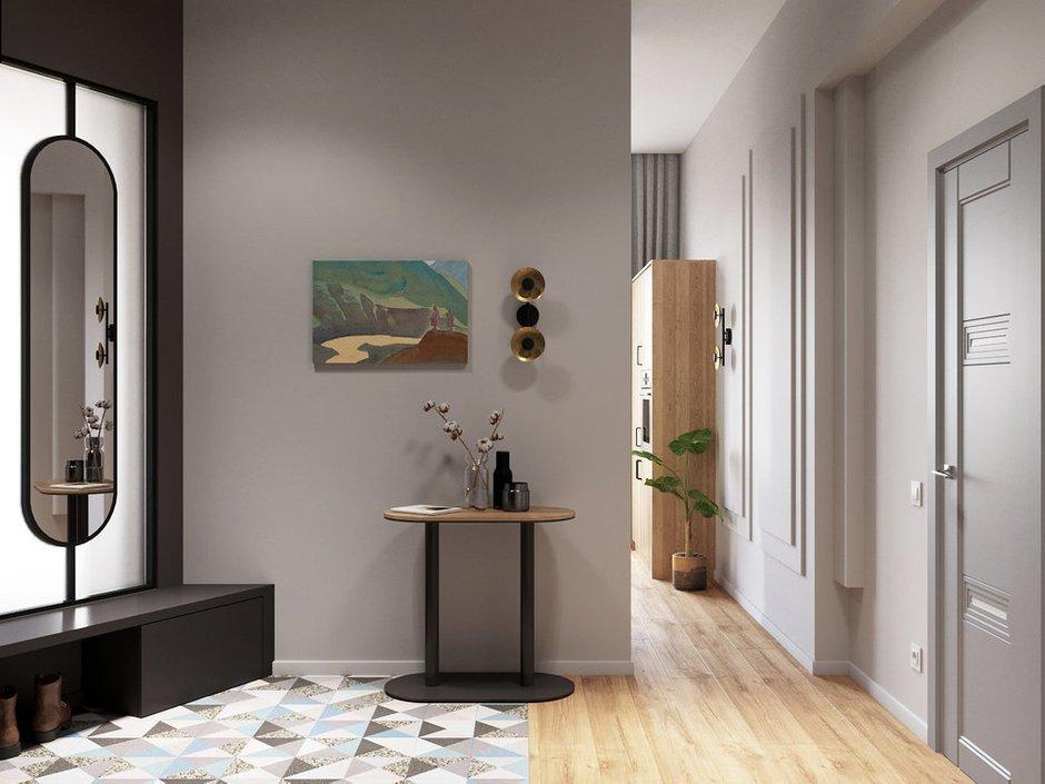 Фотография: Прихожая в стиле Современный, Квартира, Перепланировка, Санкт-Петербург, Студия Малицких, 1 комната, 40-60 метров – фото на INMYROOM