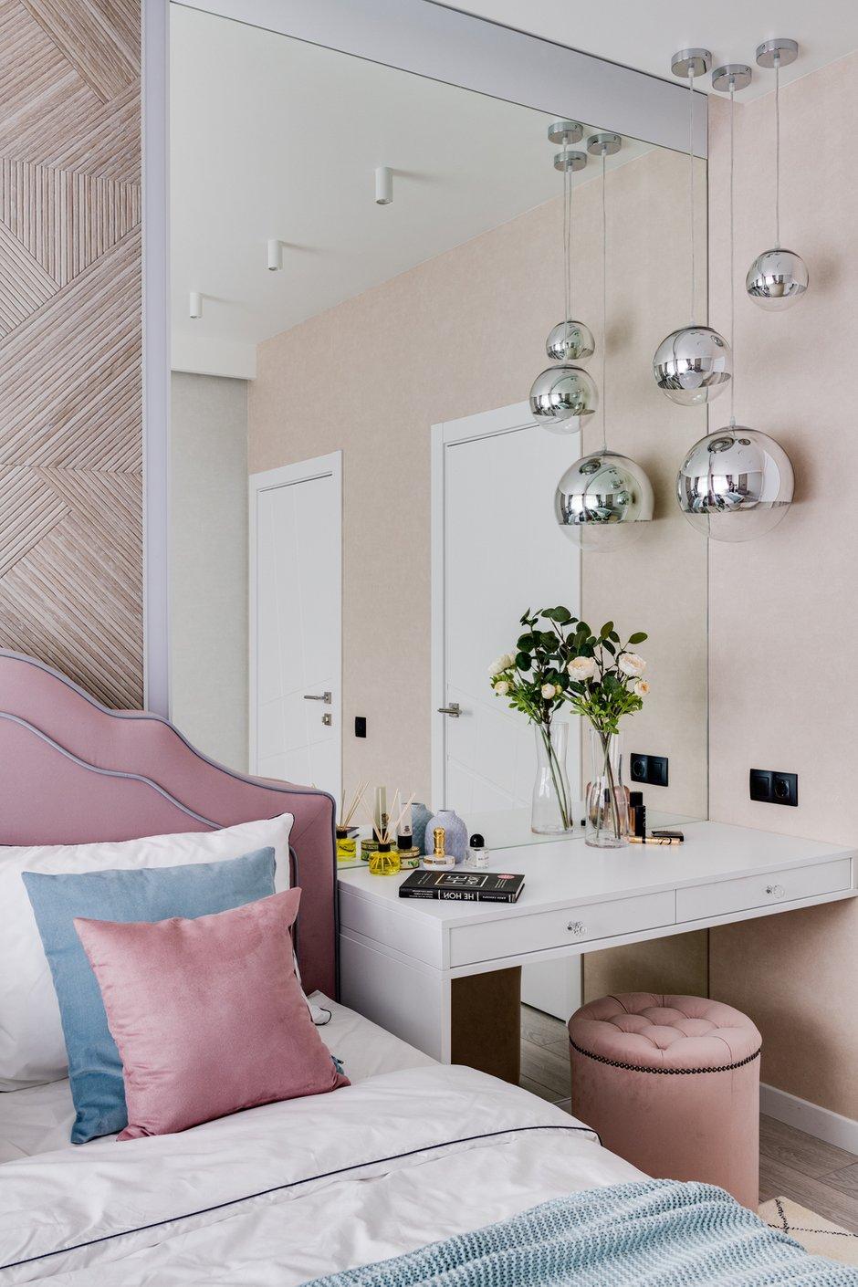 Фотография: Спальня в стиле Современный, Квартира, Проект недели, Мытищи, 4 и больше, Более 90 метров, Анна Шаповалова – фото на INMYROOM