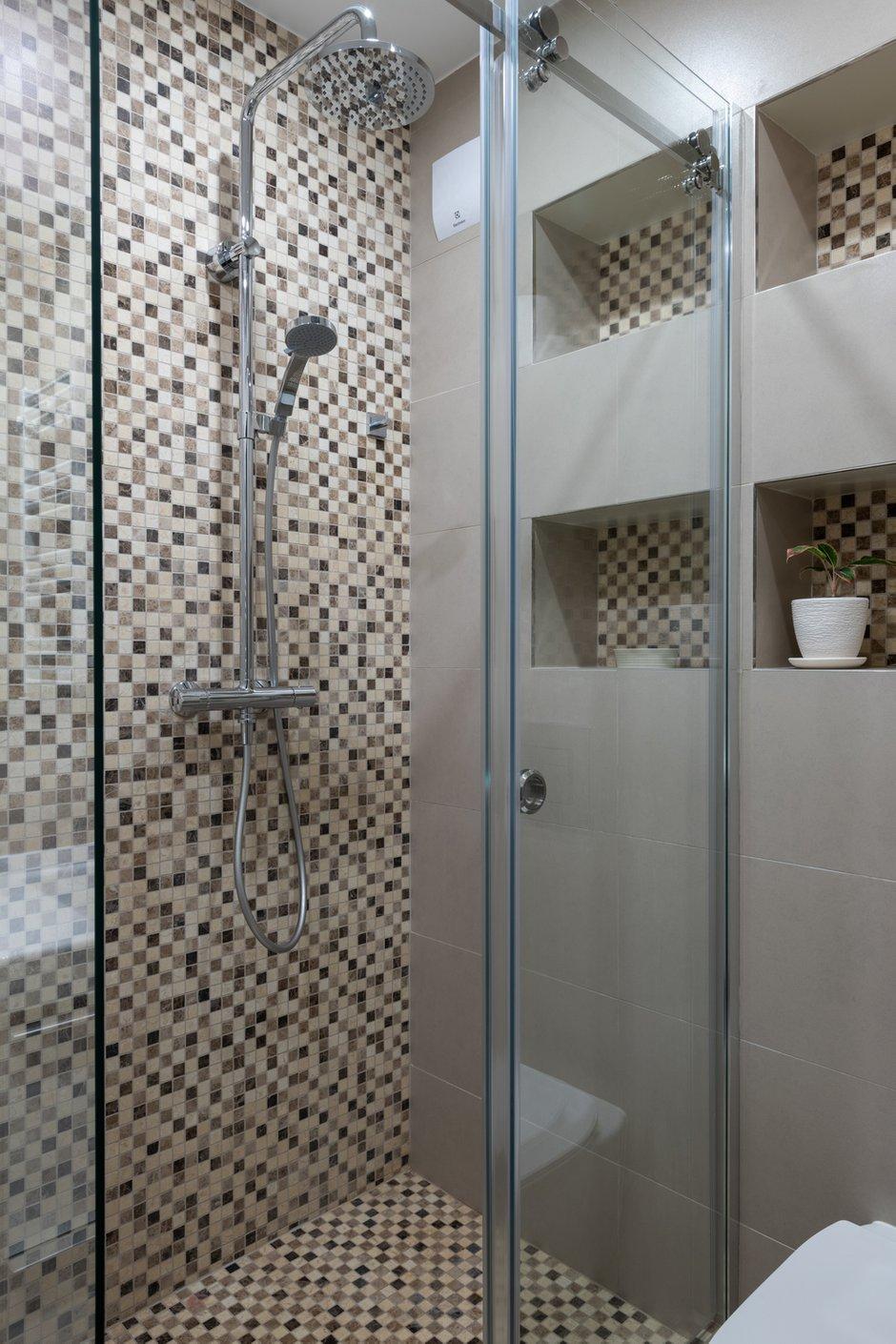 Фотография: Ванная в стиле Современный, Квартира, Проект недели, Москва, 4 и больше, Более 90 метров, Мария Гульбекян – фото на INMYROOM