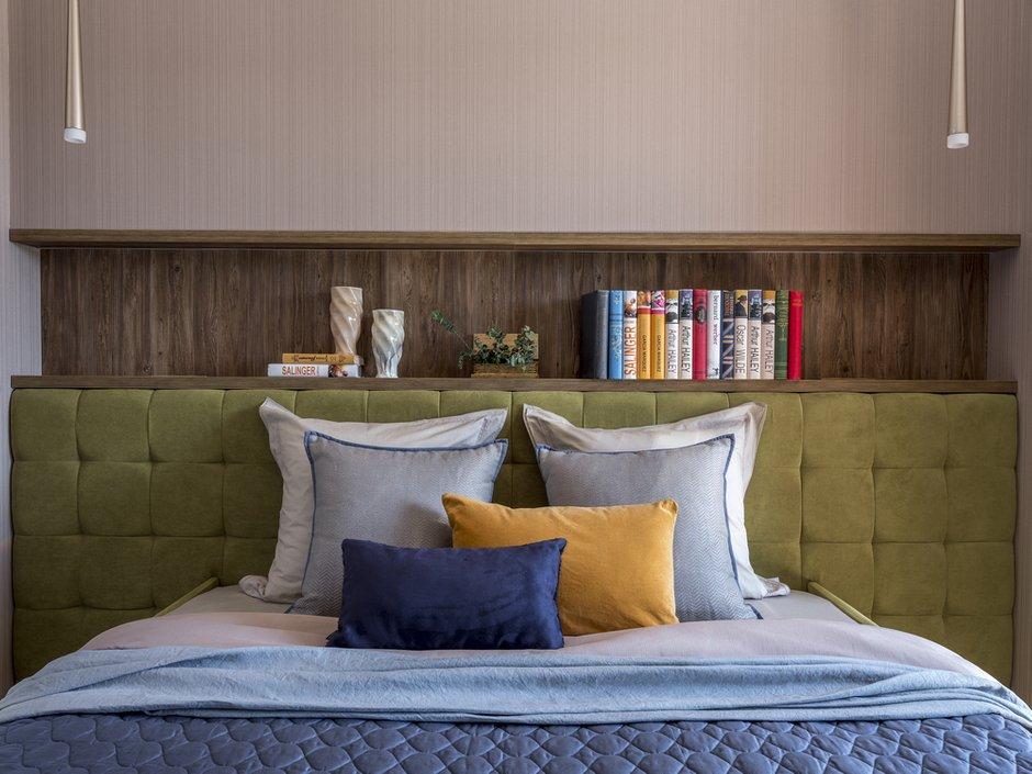 Фотография: Спальня в стиле Современный, Квартира, Проект недели, Лидия Большакова, Новогорск, 4 и больше, Более 90 метров – фото на INMYROOM