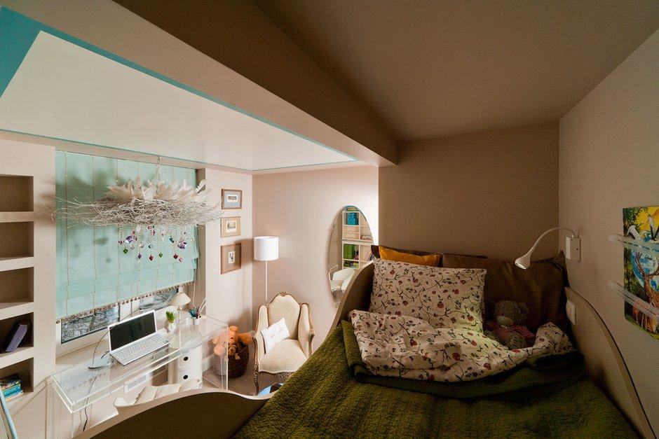 Фотография: Детская в стиле Современный, Скандинавский, Декор интерьера, Белый, Голубой, Эко – фото на InMyRoom.ru