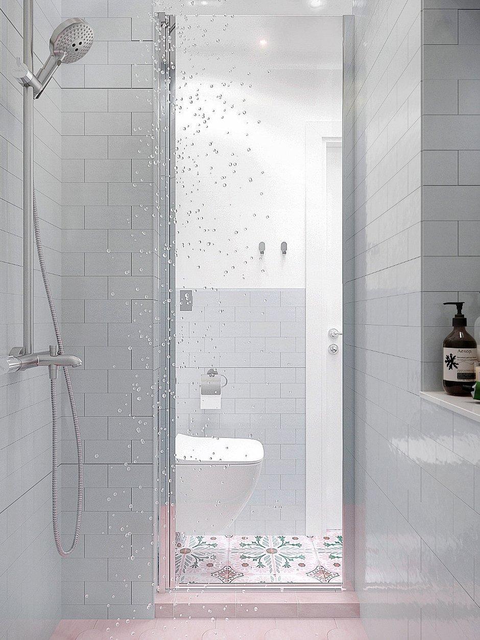Фотография: Ванная в стиле Современный, Малогабаритная квартира, Квартира, Студия, Проект недели, Москва, Блочный дом, 1 комната, до 40 метров, И-209, Анна Римс – фото на INMYROOM