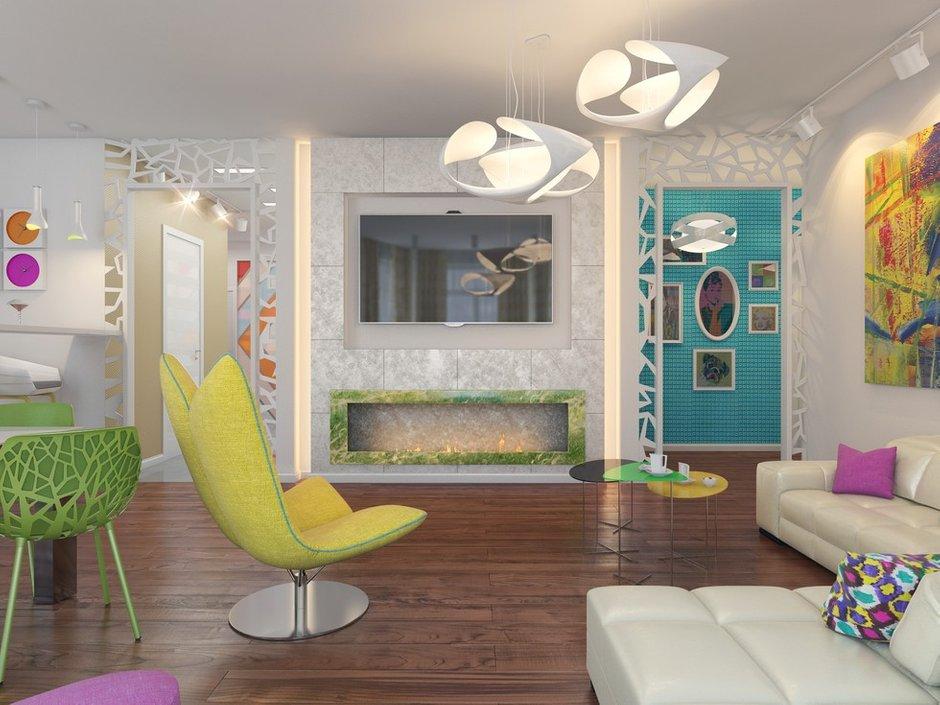 Фотография: Гостиная в стиле Эклектика, Декор интерьера, Квартира, Natuzzi, Дома и квартиры, Проект недели, Moroso – фото на INMYROOM