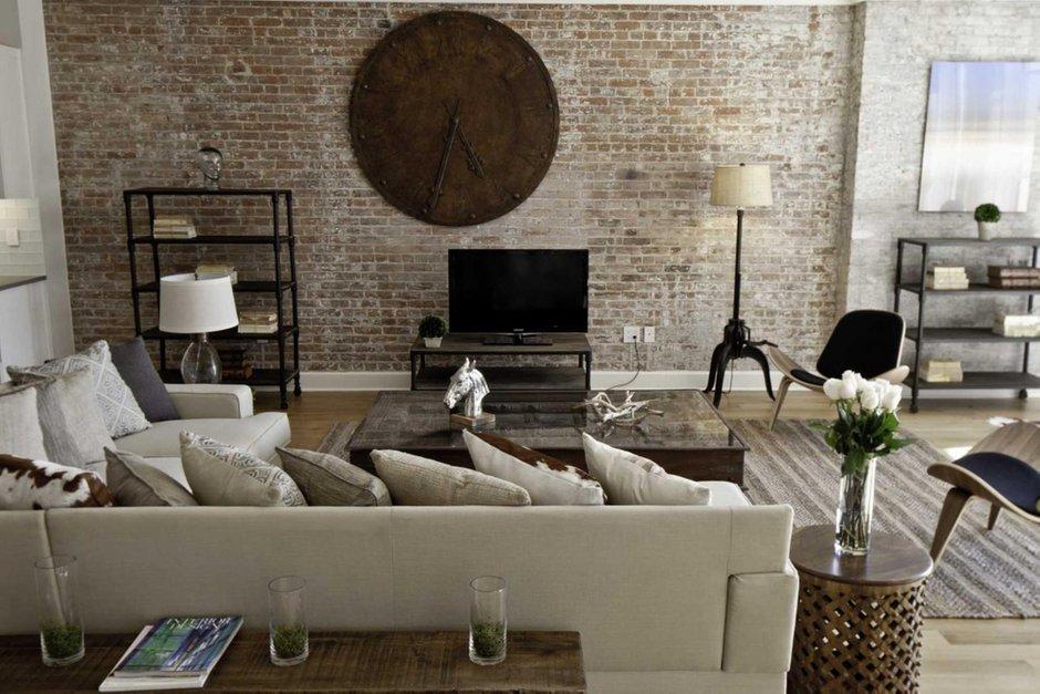 Фотография: Гостиная в стиле Лофт, Современный, Декор интерьера, Дом, Декор дома, Стены – фото на INMYROOM