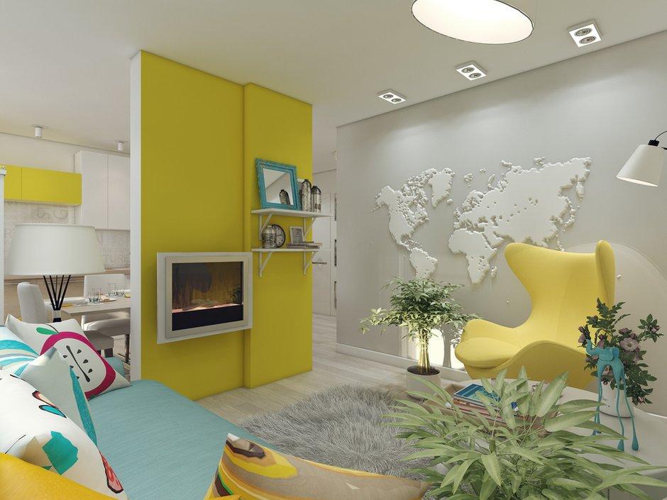 Фотография: Гостиная в стиле Современный, Квартира, Дома и квартиры, IKEA, Проект недели – фото на InMyRoom.ru