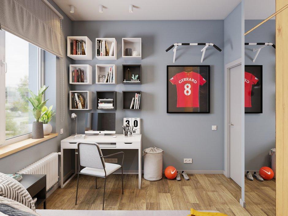 Фотография: Детская в стиле Современный, Квартира, Проект недели, Московская область, 3 комнаты, 60-90 метров, Екатерина Саламандра – фото на INMYROOM