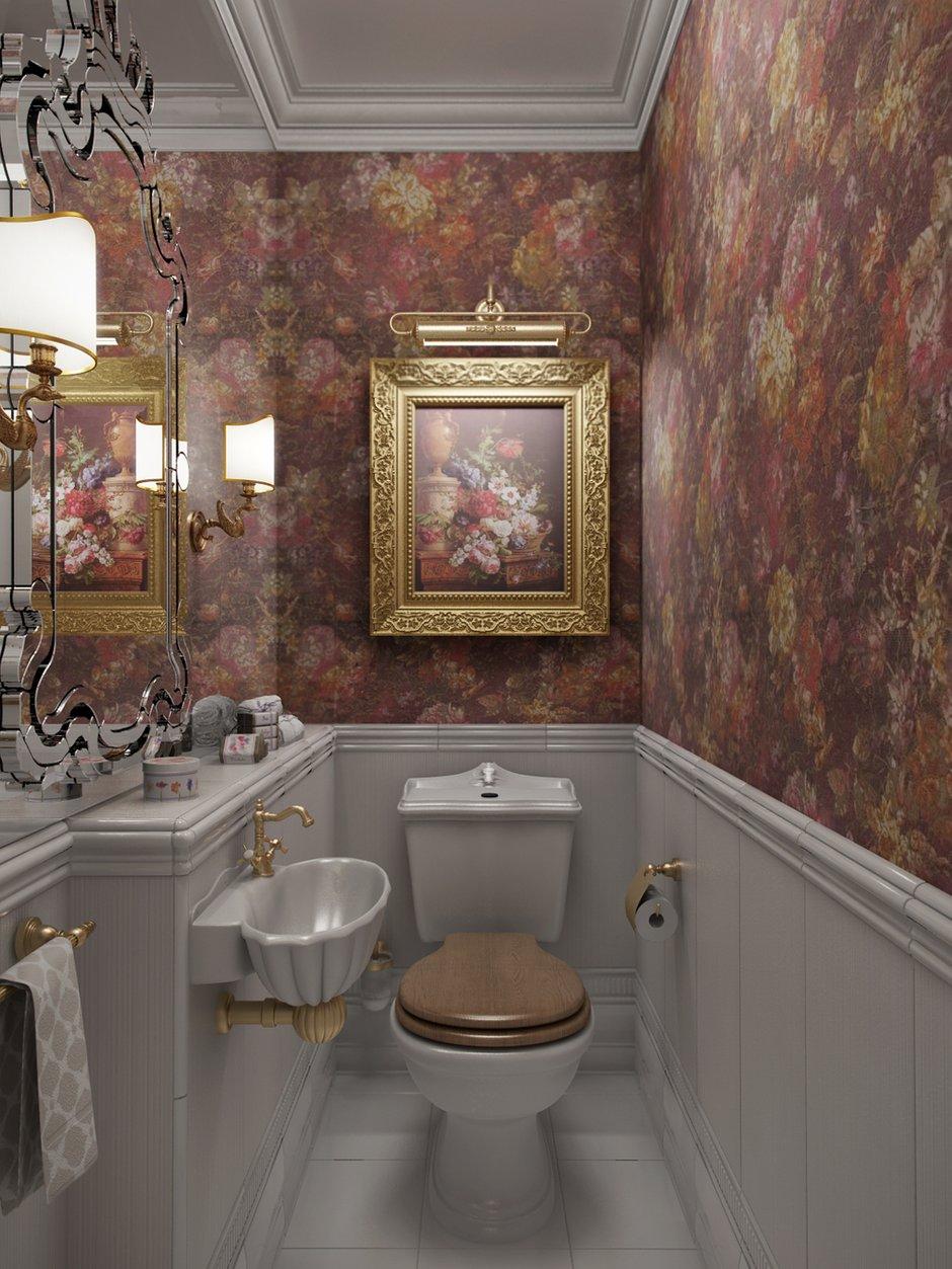 Фотография: Ванная в стиле Классический, Квартира, Проект недели, Московская область, новостройка, Александра Никулина, Монолитный дом, 3 комнаты, 60-90 метров – фото на INMYROOM