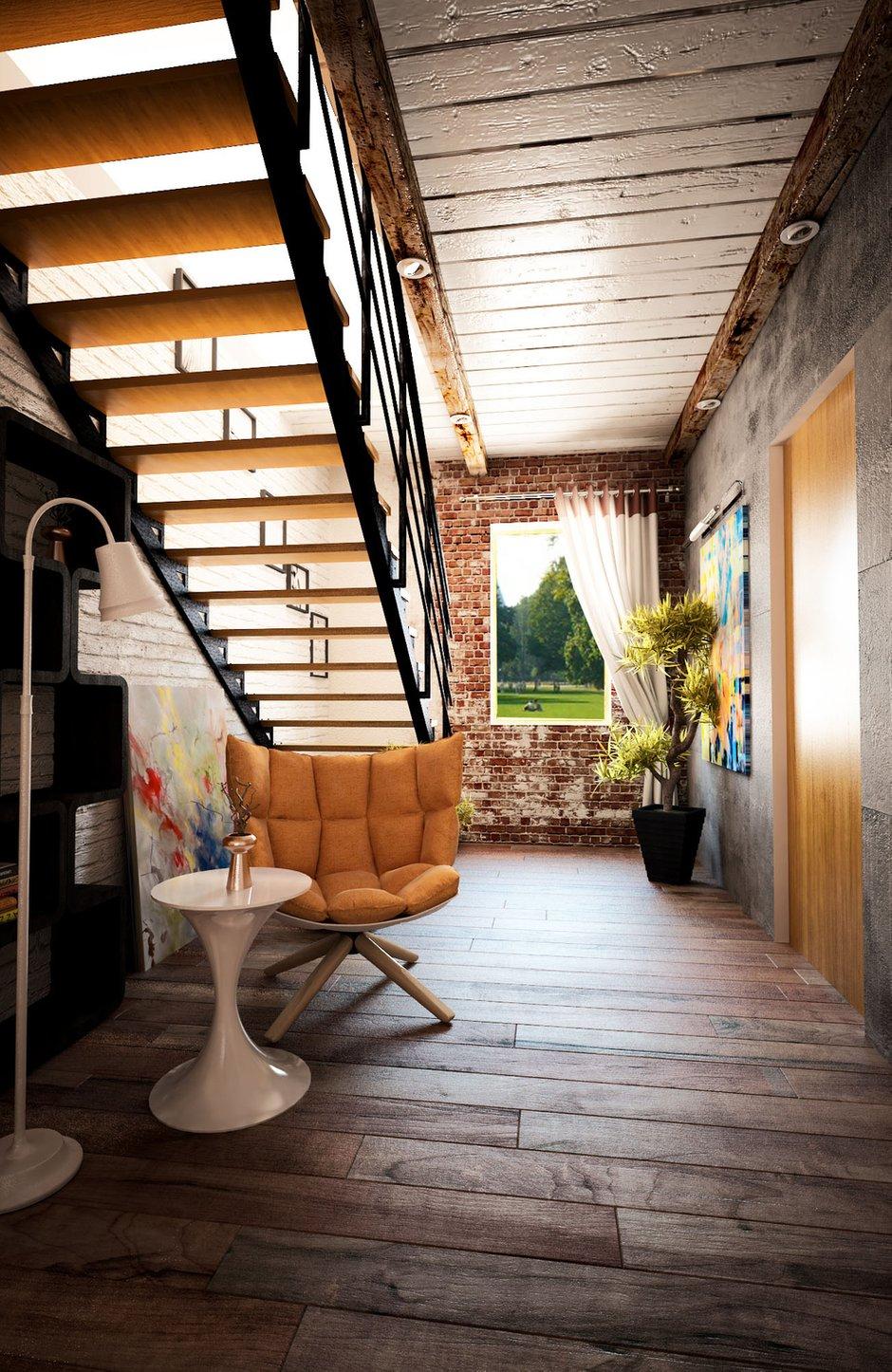 Фотография: Прихожая в стиле Лофт, Квартира, Дом, Дома и квартиры, Проект недели – фото на InMyRoom.ru