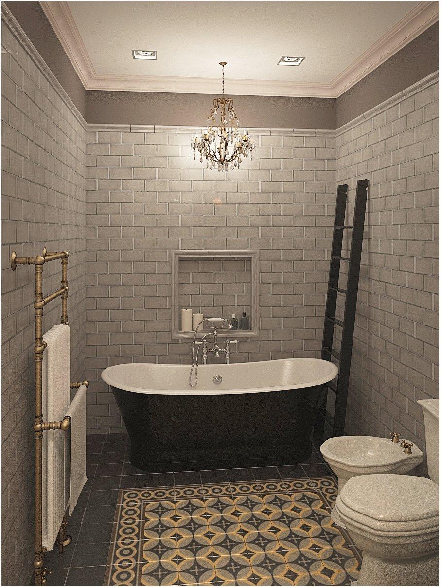 Фотография: Ванная в стиле Прованс и Кантри, Квартира, Цвет в интерьере, Дома и квартиры, Проект недели, Серый – фото на INMYROOM