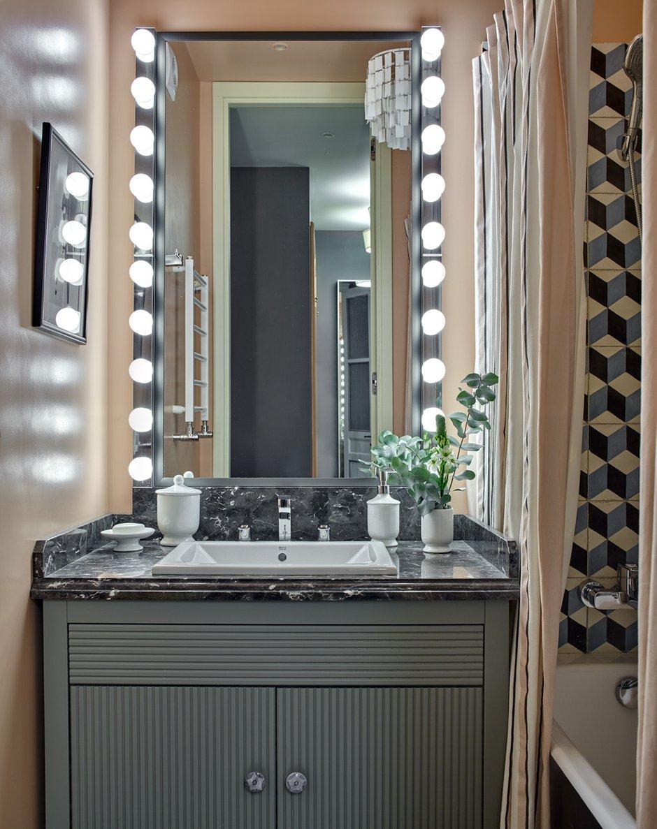 Фотография: Ванная в стиле Современный, Квартира, Проект недели, Монолитный дом, 2 комнаты, 40-60 метров, Наталья Митракова, ЖК «Маршал» – фото на INMYROOM