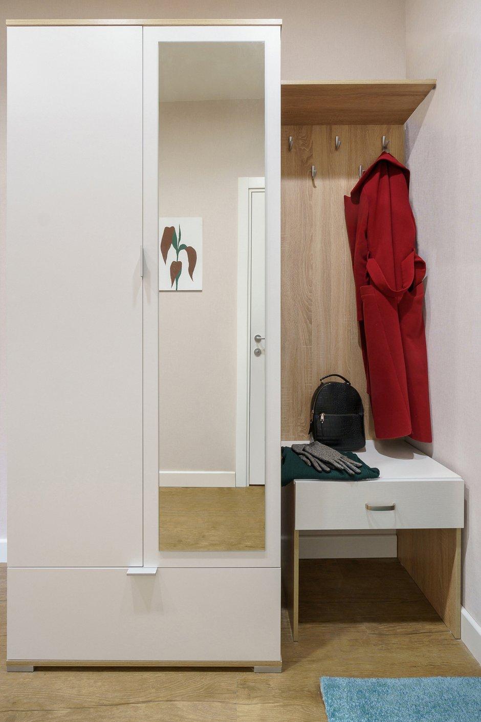 Фотография: Прихожая в стиле Современный, Квартира, Проект недели, Санкт-Петербург, 1 комната, до 40 метров, Александра Сакмарова – фото на INMYROOM