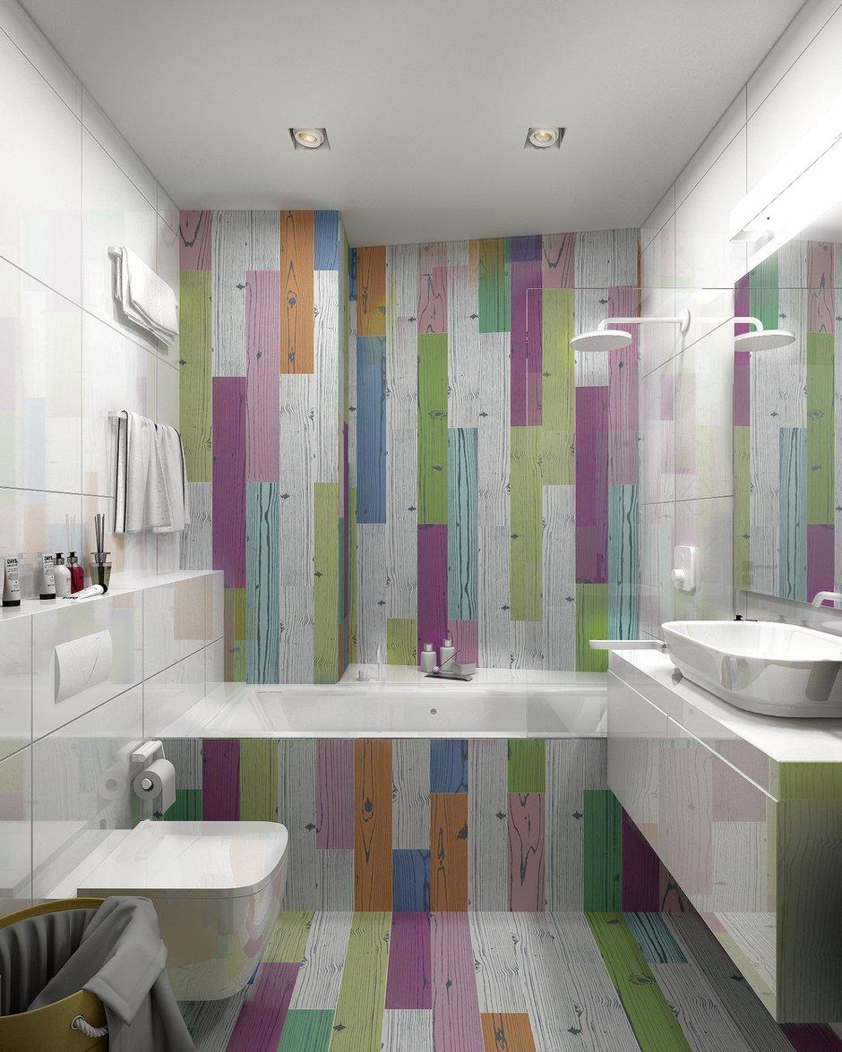 Фотография: Ванная в стиле Современный, Квартира, Проект недели, Анастасия Туганова – фото на INMYROOM