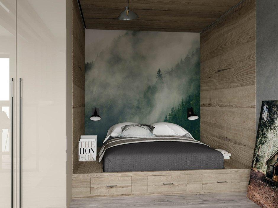 Фотография: Спальня в стиле Современный, Студия, Проект недели, Москва, до 40 метров, Konceptimo – фото на INMYROOM