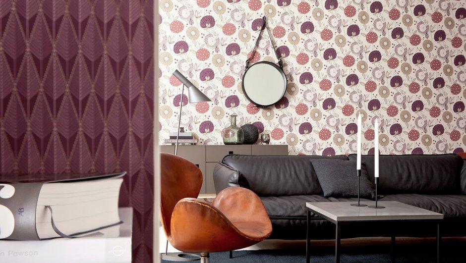Фотография: Прочее в стиле , Декор интерьера, Дизайн интерьера, Цвет в интерьере, Обои, Стены, Эко – фото на INMYROOM