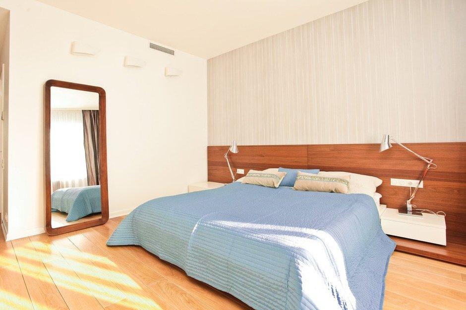 Фотография: Спальня в стиле Современный, Скандинавский, Квартира, Дома и квартиры, Проект недели – фото на INMYROOM