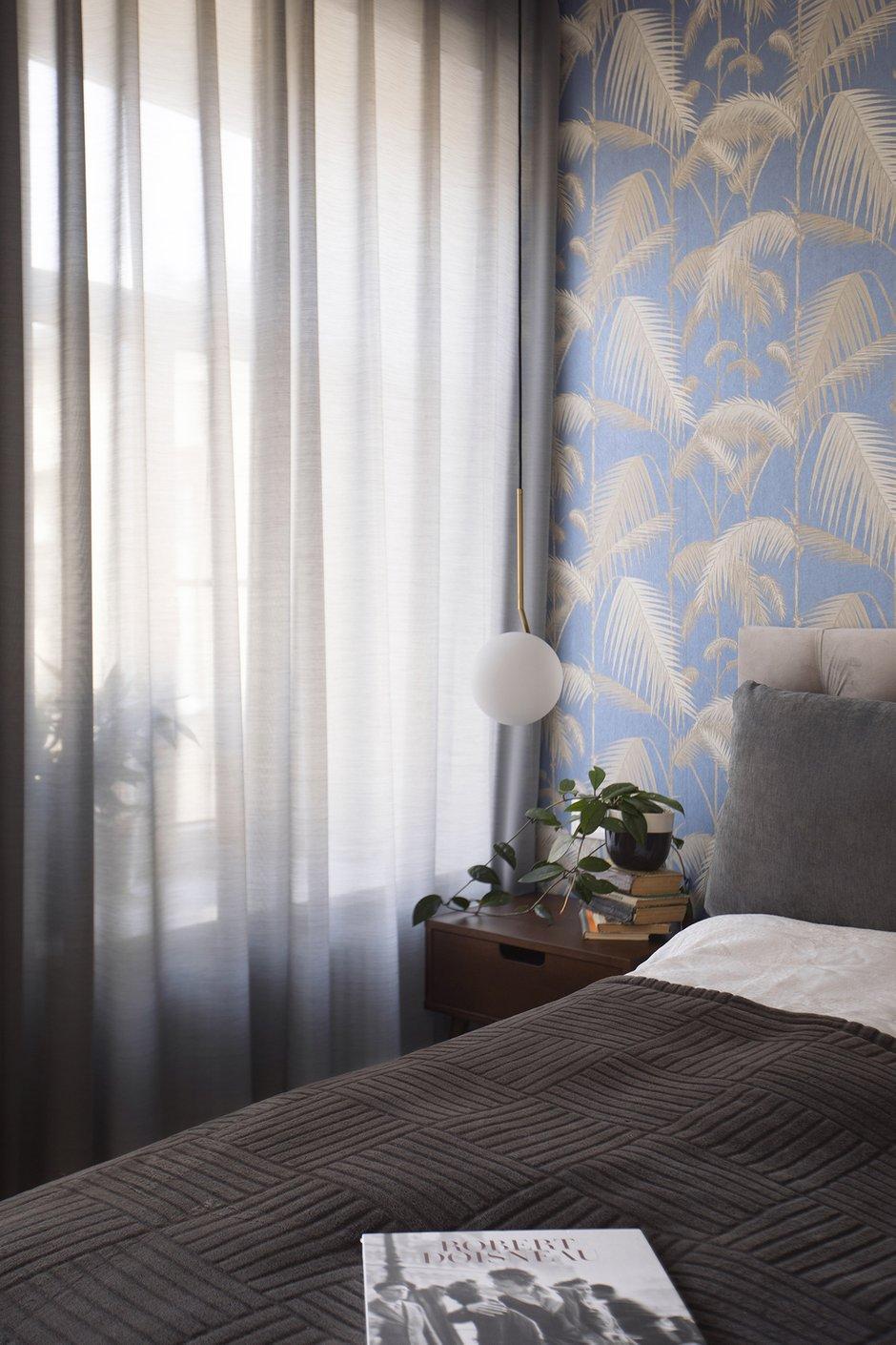 Фотография: Спальня в стиле Современный, Квартира, Проект недели, Санкт-Петербург, 3 комнаты, 60-90 метров, BAS.architects – фото на INMYROOM
