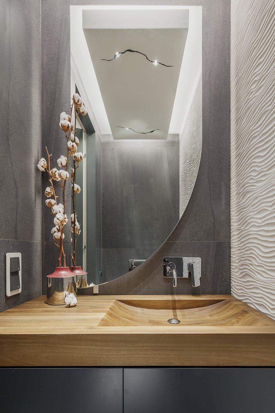 Фотография: Ванная в стиле Современный, Квартира, Проект недели, Москва, Диана Мальцева, Монолитный дом, 2 комнаты, 60-90 метров – фото на INMYROOM