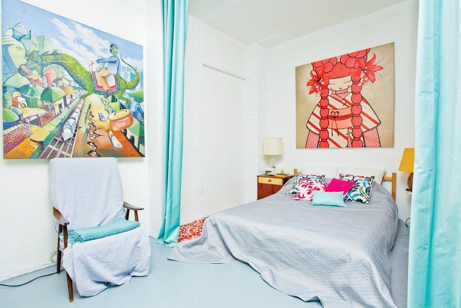 Фотография: Спальня в стиле Лофт, Скандинавский, Квартира, Дома и квартиры, IKEA – фото на INMYROOM