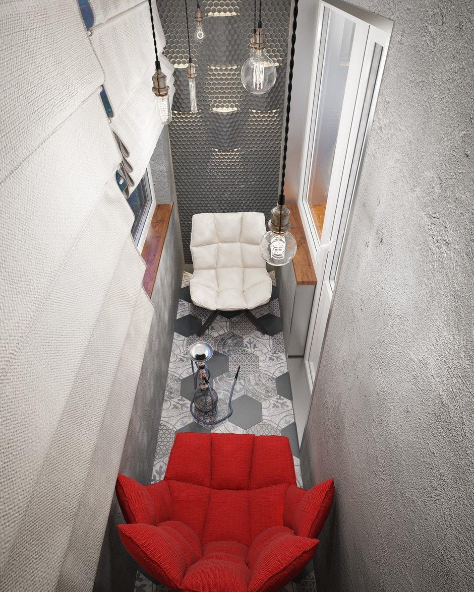 Фотография: Балкон в стиле Лофт, Проект недели, П-3М, GM-Interior – фото на INMYROOM