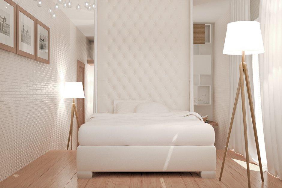 Фотография: Спальня в стиле Современный, Квартира, Дома и квартиры, Проект недели, Мансарда – фото на INMYROOM