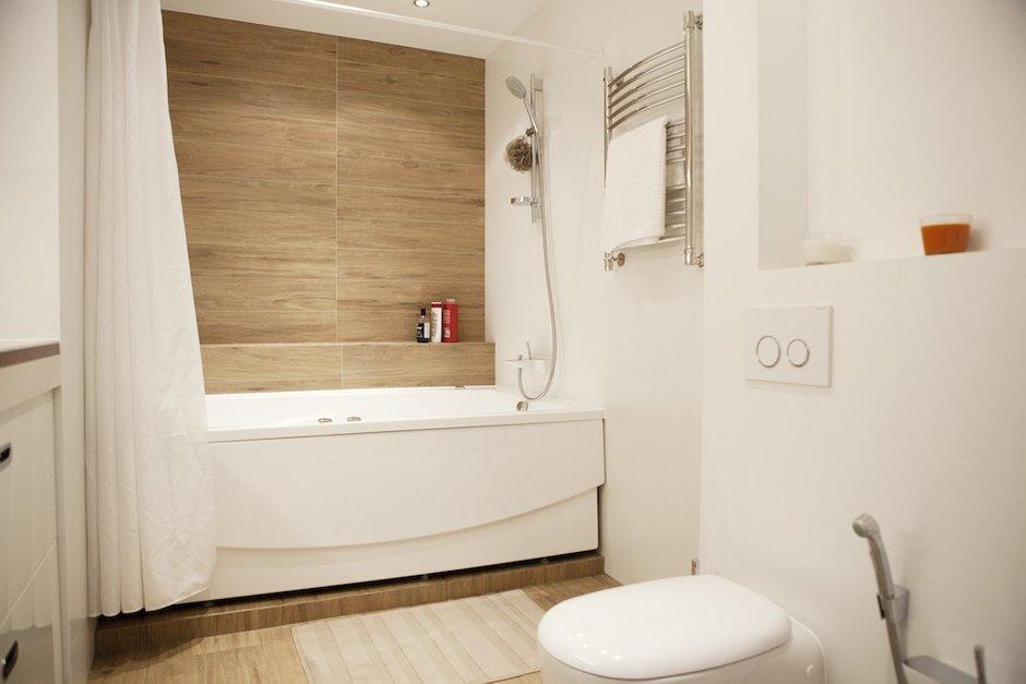 Фотография: Ванная в стиле Современный, Квартира, BoConcept, Дома и квартиры, Проект недели, Москва, Dulux – фото на INMYROOM