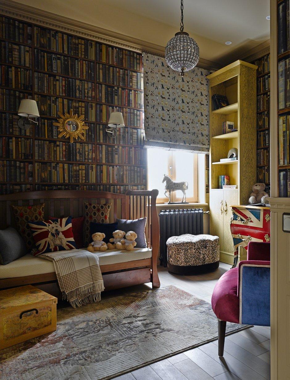 Фотография: Гостиная в стиле , Классический, Эклектика, Квартира, Текстиль, Дома и квартиры – фото на INMYROOM