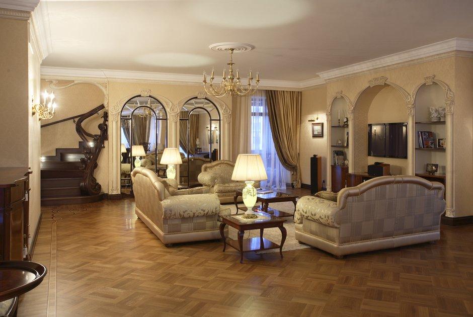 Фотография: Гостиная в стиле Классический, Современный, Квартира, Дома и квартиры, Модерн, Ар-нуво – фото на INMYROOM