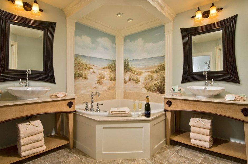 Фотография: Ванная в стиле Классический, Современный, Декор интерьера, Мебель и свет – фото на INMYROOM
