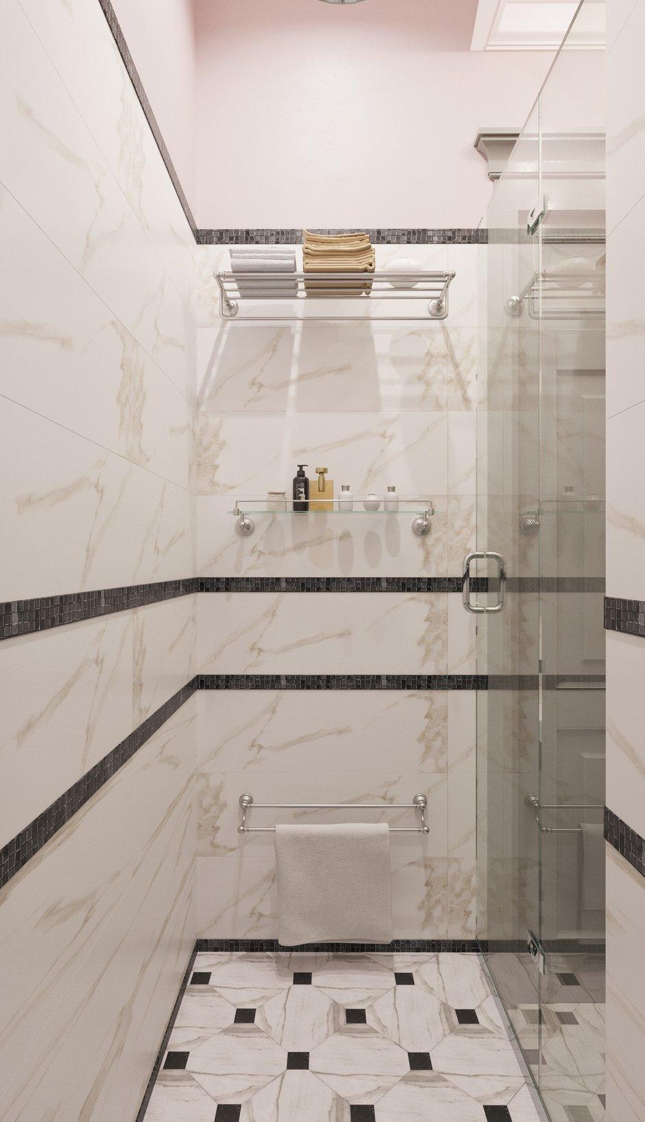 Фотография: Ванная в стиле Современный, Эклектика, Квартира, Проект недели, Москва, Светлана Старцева, Кирпичный дом, 2 комнаты, 40-60 метров – фото на INMYROOM