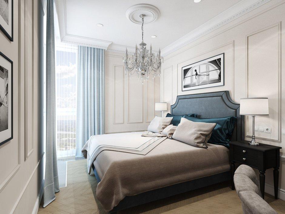 Фотография: Спальня в стиле Классический, Проект недели, Москва, Светлана Старцева, 3 комнаты, Более 90 метров – фото на INMYROOM