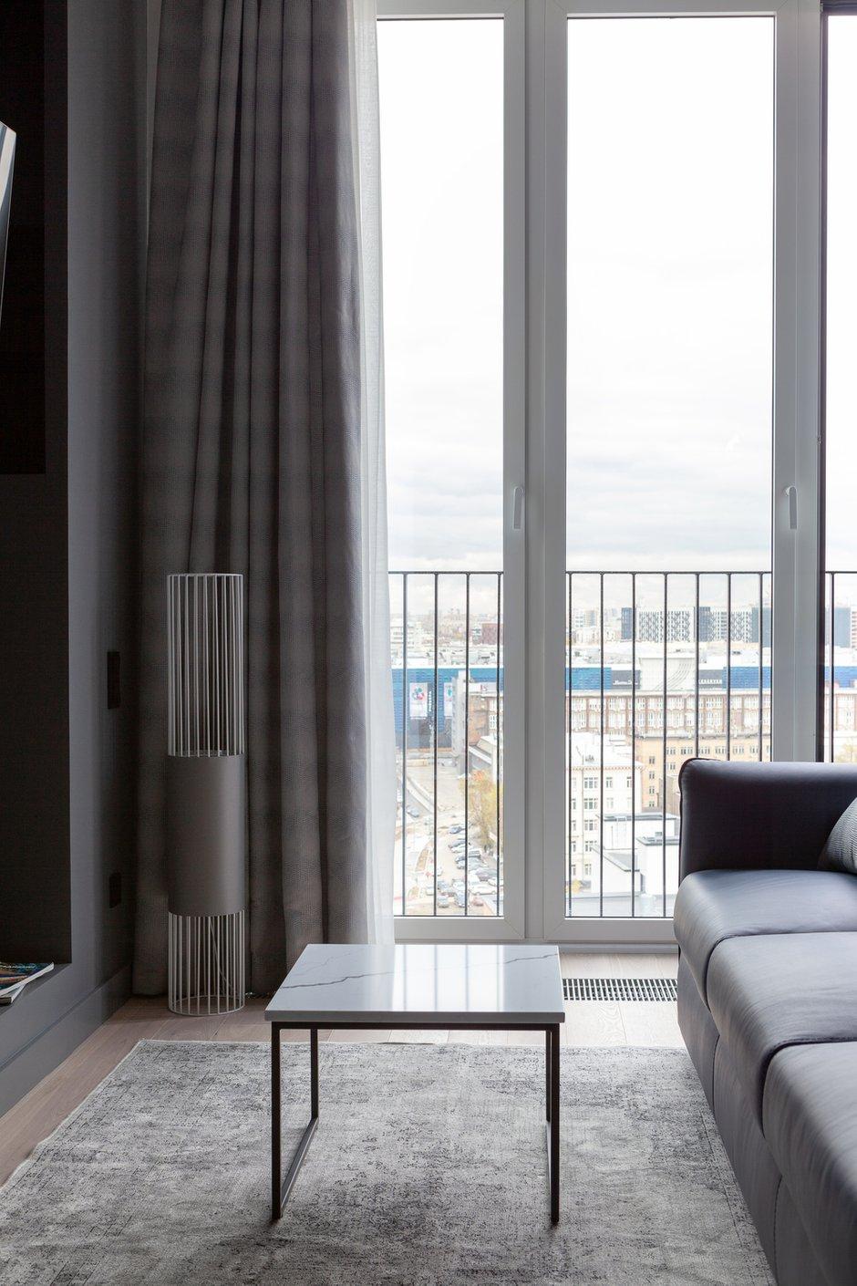Фотография: Гостиная в стиле Современный, Квартира, Проект недели, Москва, 3 комнаты, Более 90 метров – фото на INMYROOM