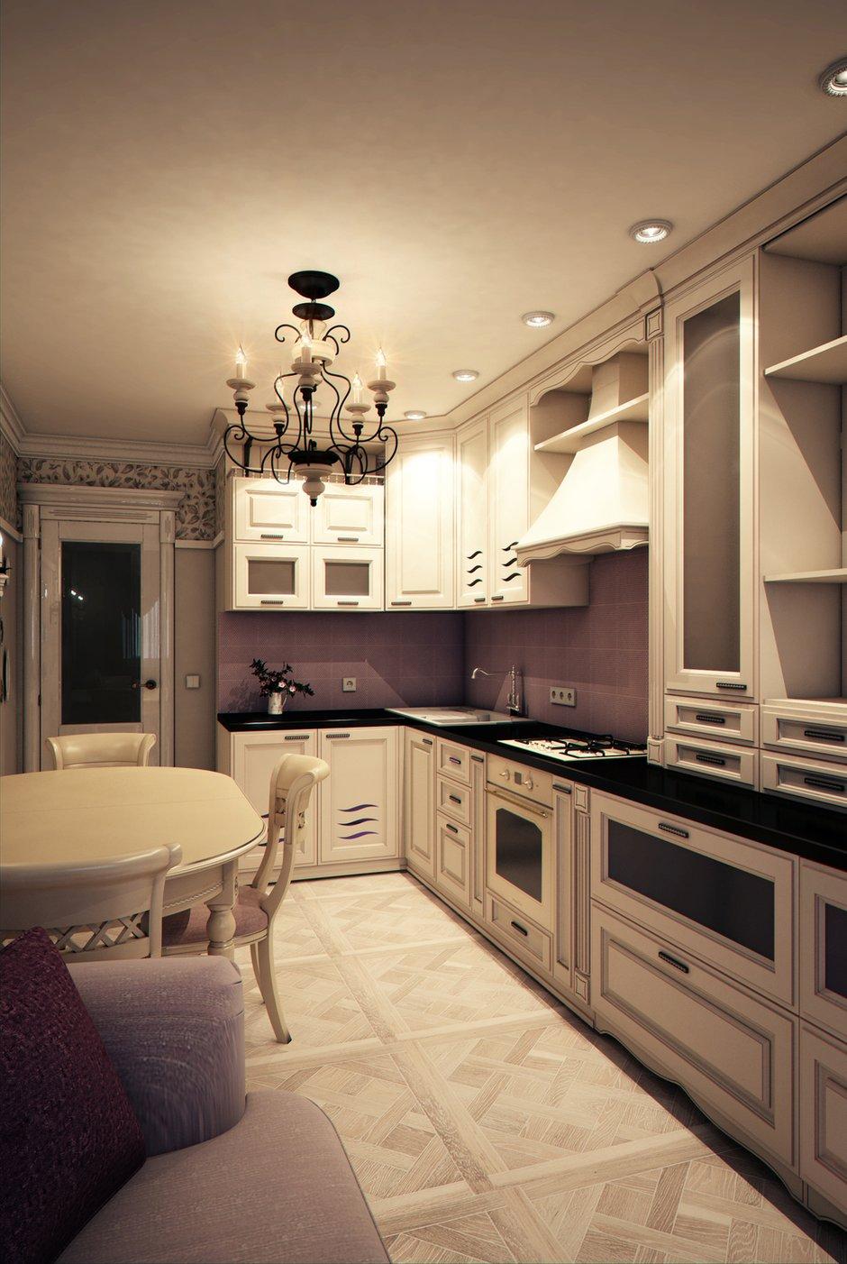 Фотография: Кухня и столовая в стиле Классический, Эклектика, Прованс и Кантри, Квартира, Проект недели – фото на INMYROOM