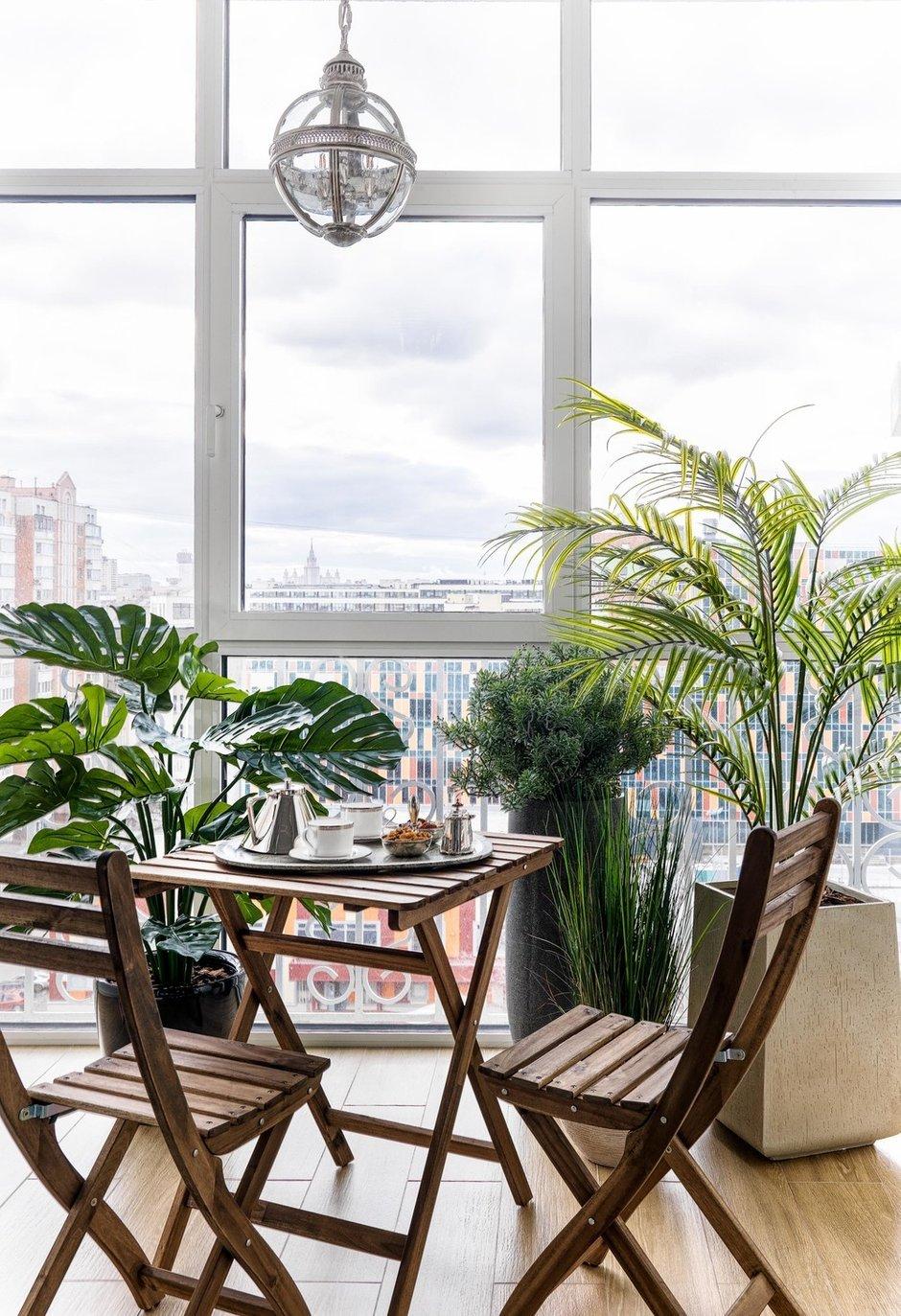 Фотография: Балкон в стиле Современный, Квартира, Проект недели, Москва, Монолитный дом, 3 комнаты, Более 90 метров, #эксклюзивныепроекты, Наталья Высоцкая – фото на INMYROOM