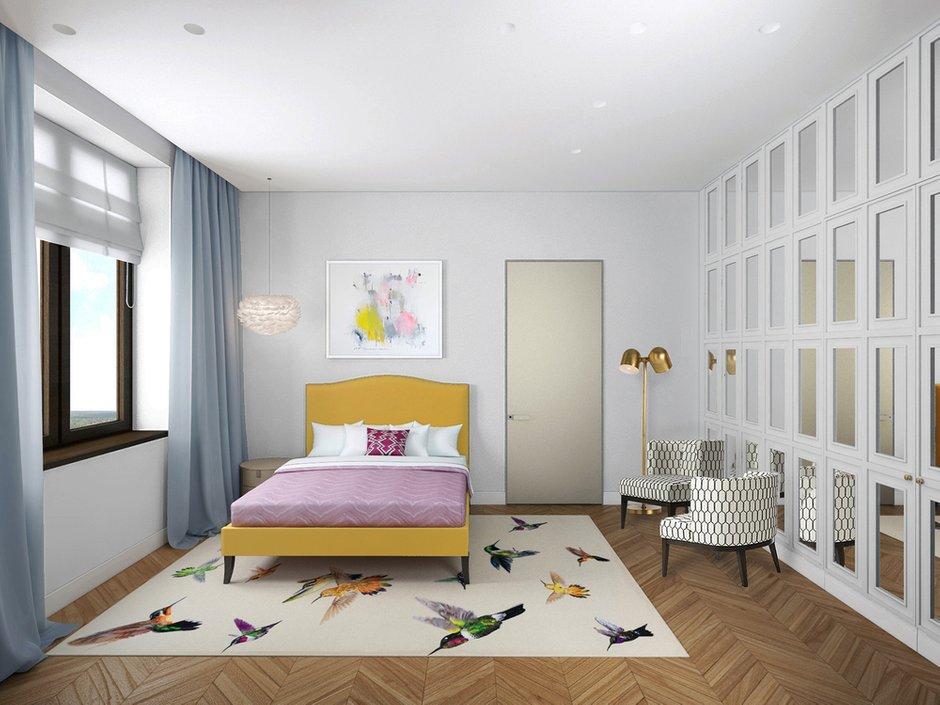 Фотография: Спальня в стиле Современный, Эклектика, Дом, Минимализм, Проект недели – фото на INMYROOM