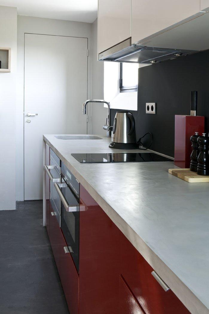 Фотография: Кухня и столовая в стиле Современный, Лофт, Малогабаритная квартира, Квартира, Дома и квартиры – фото на INMYROOM