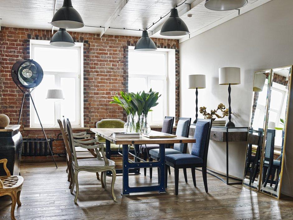 Фотография: Офис в стиле Лофт, Офисное пространство, Moissonnier, Дома и квартиры – фото на INMYROOM