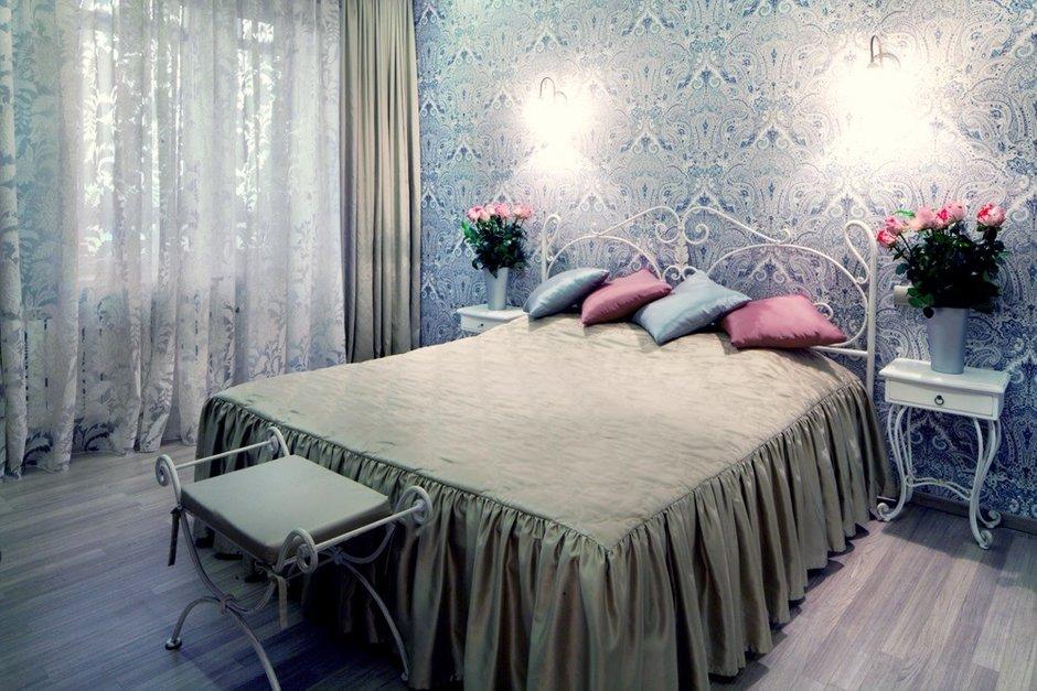 Фотография: Спальня в стиле , Квартира, Дома и квартиры – фото на INMYROOM