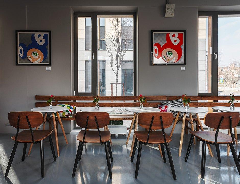 Фотография:  в стиле , Проект недели, Москва, Ресторан, ID project – фото на INMYROOM