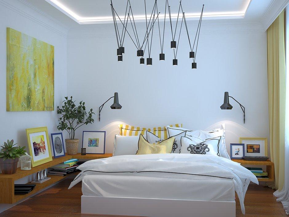 Фотография: Спальня в стиле Современный, Декор интерьера, Дом, Декор, Цвет в интерьере, Дома и квартиры, Средиземноморский, Греция – фото на INMYROOM
