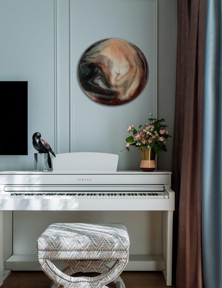 Фотография: Спальня в стиле Классический, Современный, Квартира, Проект недели, Москва, 3 комнаты, 60-90 метров, Наталья Широкорад – фото на INMYROOM
