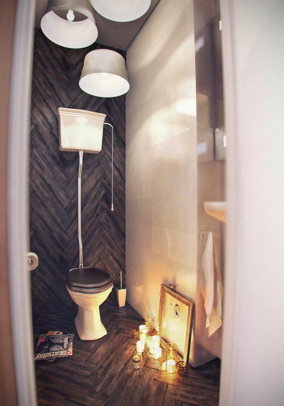 Фотография: Ванная в стиле Лофт, Эклектика, Квартира, Дома и квартиры, IKEA – фото на INMYROOM
