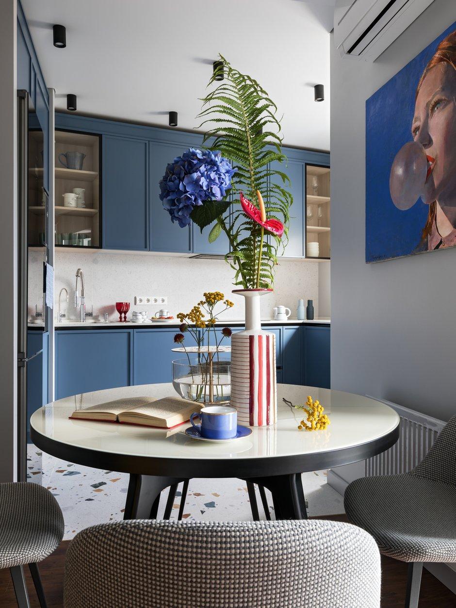 Фотография: Кухня и столовая в стиле Современный, Квартира, Проект недели, Минск, 2 комнаты, 60-90 метров, Студия Blackdot – фото на INMYROOM