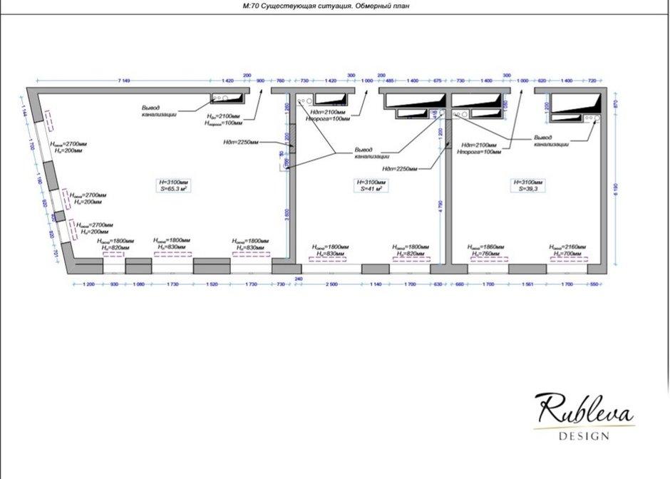 Фотография: Планировки в стиле , Современный, Квартира, Проект недели, Москва, Мария Рублева, 4 и больше, Более 90 метров, #эксклюзивныепроекты – фото на INMYROOM