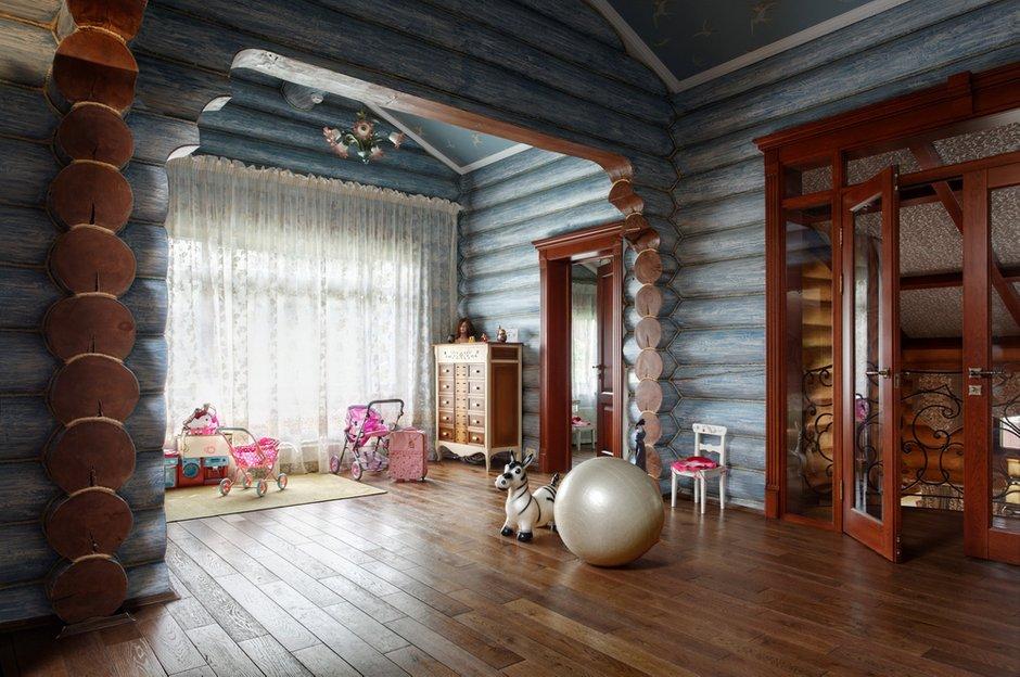 Фотография: Детская в стиле , Дом, Дома и квартиры, Проект недели, Дача – фото на INMYROOM