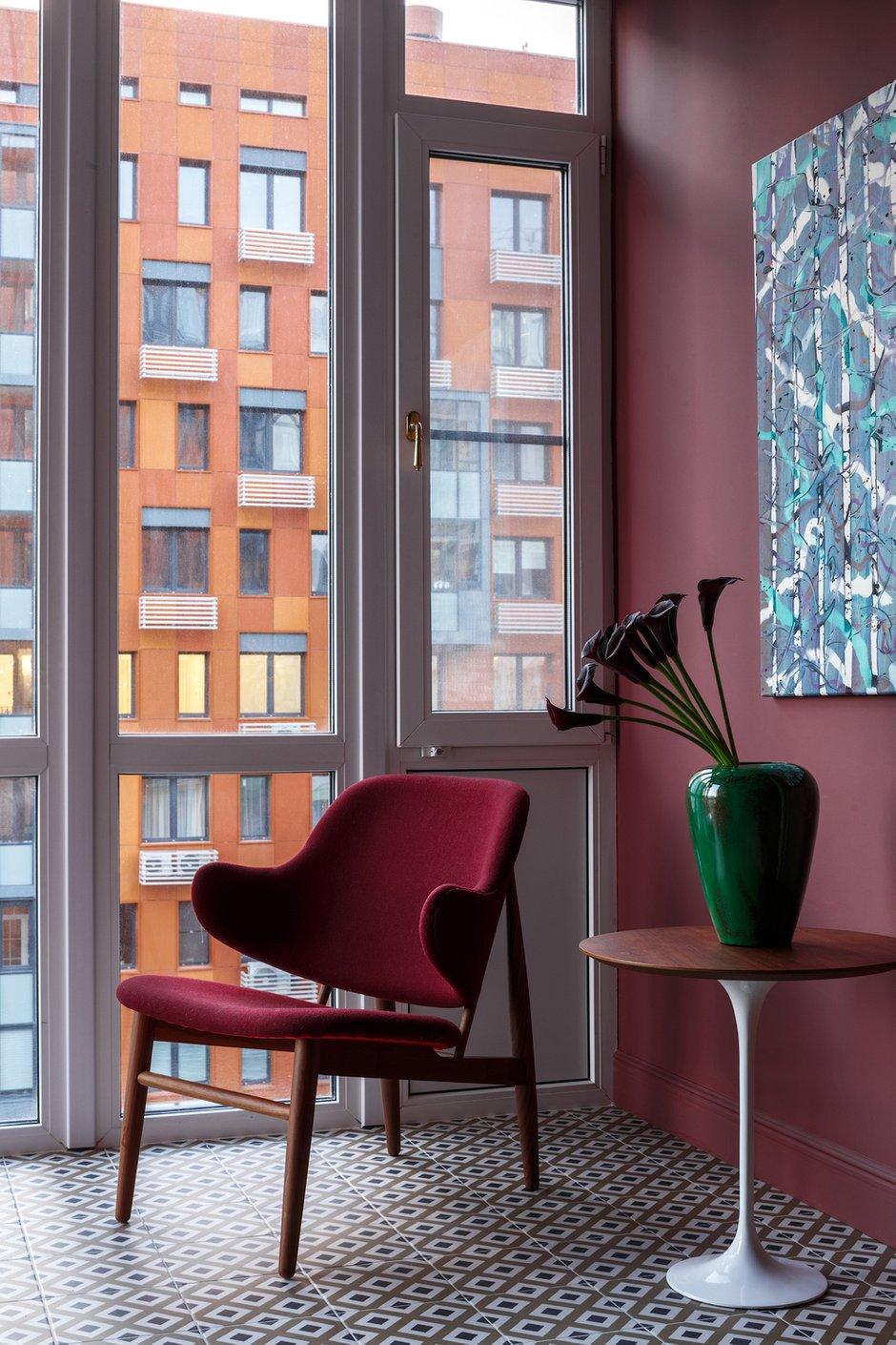 Фотография: Балкон в стиле Современный, Эклектика, Квартира, Проект недели, Москва, Надя Зотова, 4 и больше, Более 90 метров, студия Enjoy Home, Никита Теплицкий – фото на INMYROOM